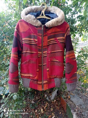 Теплая куртка пальто
