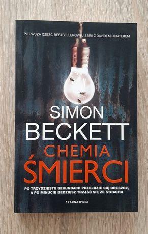 """Nowa książka """"Chemia śmierci' Simon Beckett"""