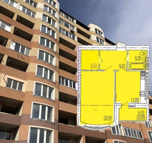 Однокомнатная квартира в новом сданном доме в Приморском р-не