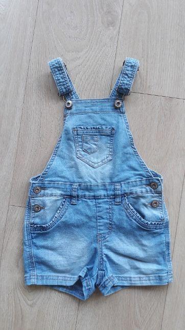 ogrodniczki jeansowe dżinsowe 116