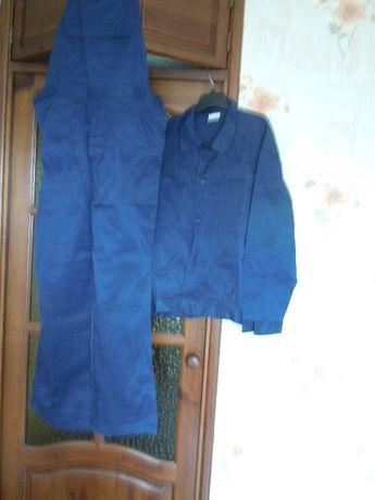 Костюм рабочий,полукомбинезон с курткой.большой размер