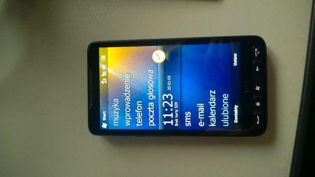 HTC HD2 WM 6.5 doskonały do GPS