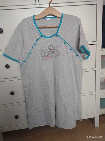 Koszulka nocna dla matki karmiącej XXL