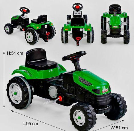 Трактор педальный, толокар, веломобиль.