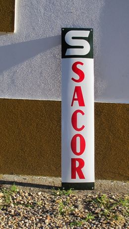 Placa esmaltada Sacor 100x20cm