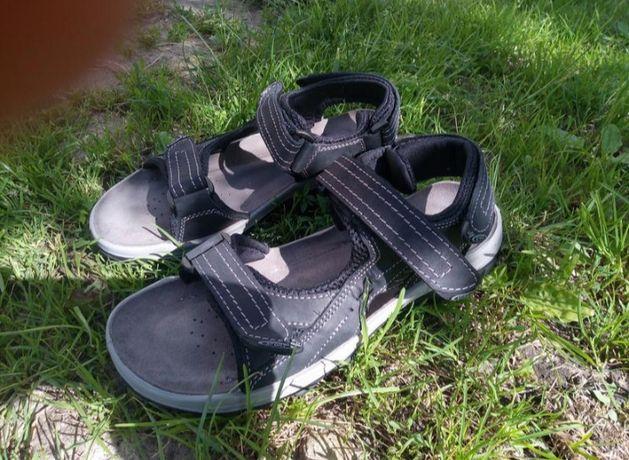 Go soft сандали босонодки кожаные сандалі 27,5(ecco,geox,ckarks,rieker