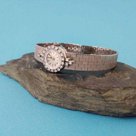 Złoty zegarek ZENITH z diamentami, p750