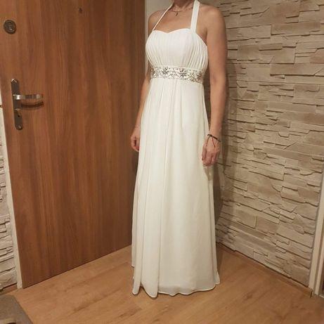 Suknia ślubna, skromna,elegancka rozmiar 38-40