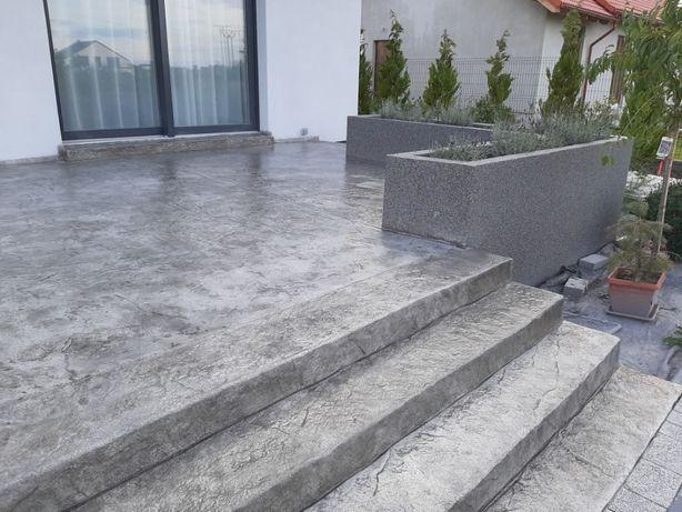 Beton Dekoracyjny Stemplowany
