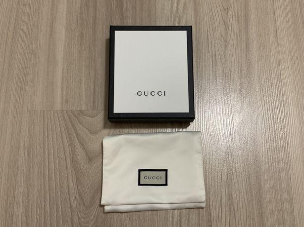 Pudełko Gucci na portfel / cardholder / box / pudło dustbag / worek gg