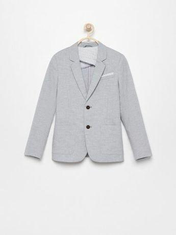 Elegancki komplet marynarka spodnie koszula Reserved 92
