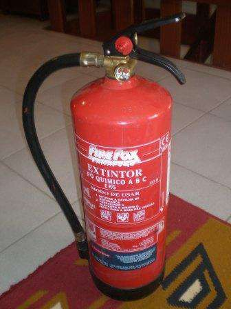 Extintor pó quimico 6 Kg