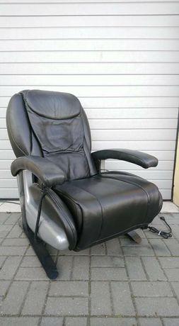 Fotel masujący podgrzewany elektryczny ciar spa włoski