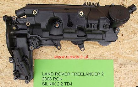 Pokrywa zaworów LAND ROVER FREELANDER II 2.2 TD Duratorq 10r.