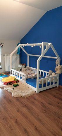 Łóżko dziecięce domek STELAŻ GRATIS