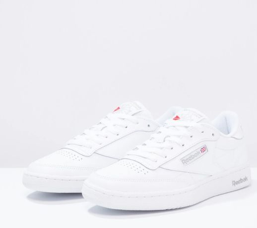 CLUB C 85 LEATHER UPPER SHOES - Sneakersy niskie