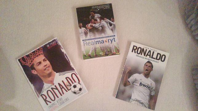 Książki Real Madryt i Cristiano Ronaldo