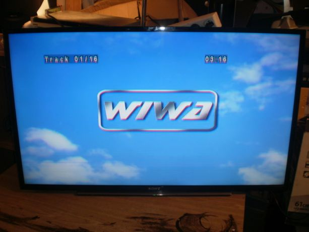 Telewizor Sony KDL-40W605B z uszkodzona matryca na czesci.