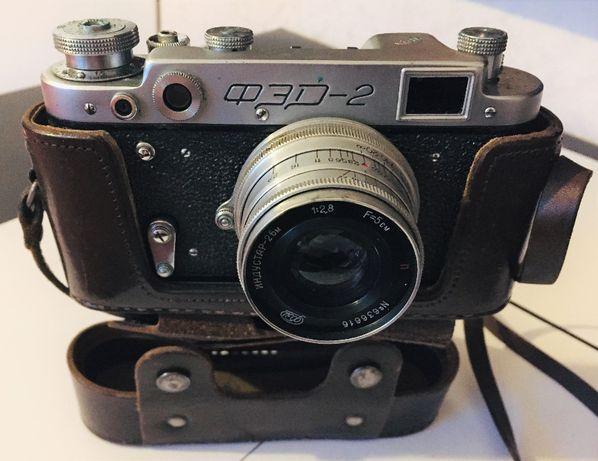 piękny aparat FED-2 ___ styl retro / dla kolekcjonera ___ 1955 r