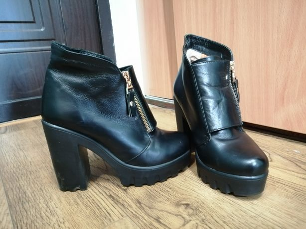 Продам ботинки из натуральной кожи