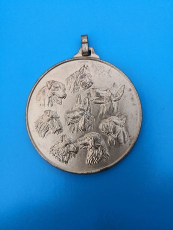 Kolekcjonerski medalion z zawieszką, metalowy