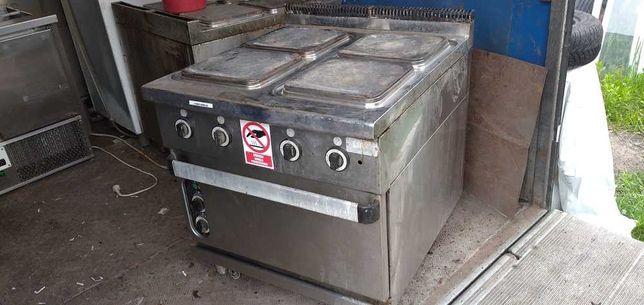 Kuchnia elektryczna 4 palnikowa z piekarnikiem C-9F-4E Boiling