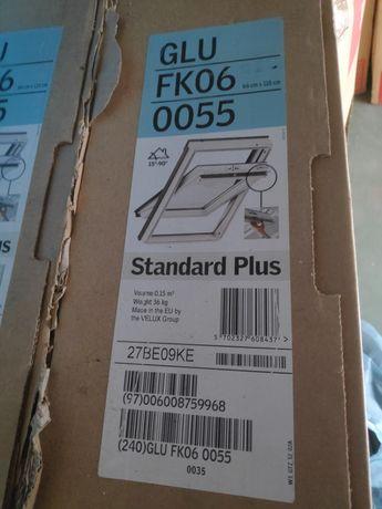[NOWE] Okno Dachowe VELUX GLU FK06 66x118 2-szybowy górne otwierane