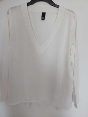 Śliczna biała bluzka best connections 46