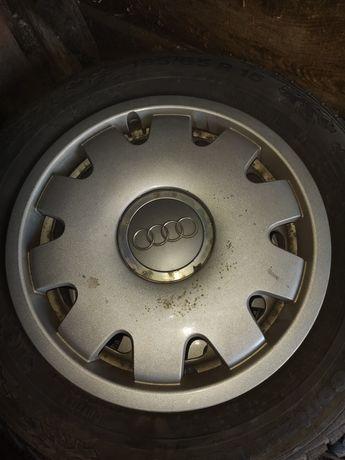 Koła stalowe 15cali 5*100 zimowe audi VW skoda