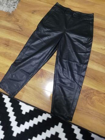 Spodnie ZARA z eko skóry