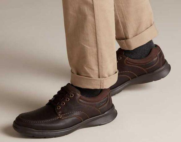 Мужские полуботинки туфли Clarks cotrell edge 41 размер новые