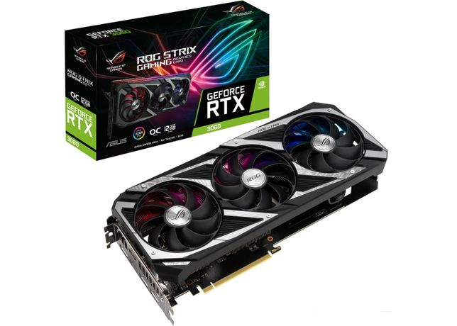 Asus ROG Strix GeForce RTX 3060 12GB GDDR6 OC Editon