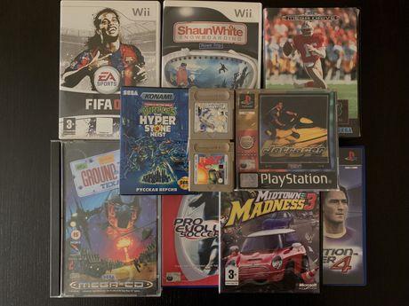 Conjunto de vários jogos - Sega; Nintendo; Playstation; Xbox