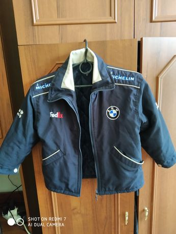 Куртка демисезонная на мальчика 6-7 лет