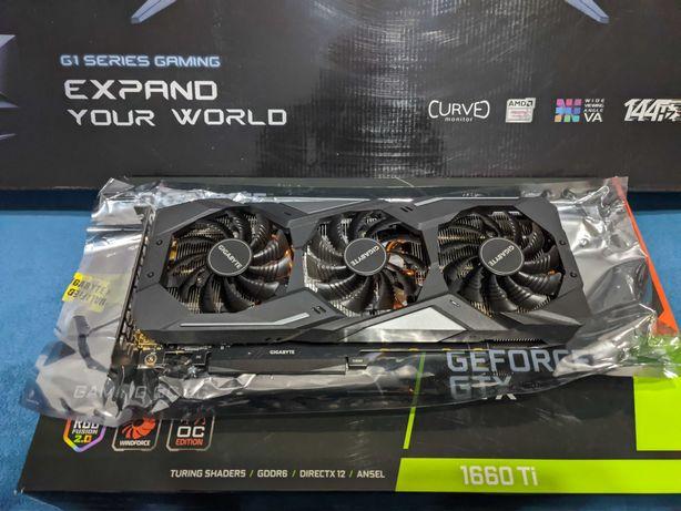 Gigabyte GeForce GTX 1660 Ti GAMING OC 6GB GDDR6 + monitor AOC C27G1