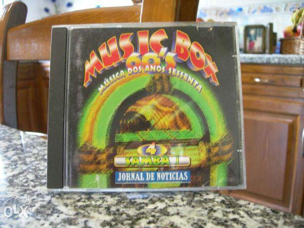 """Vendo cd music box 60's """"samba i"""""""