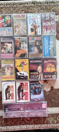 Stare kasety magnetofonowe