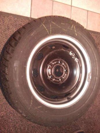 Nowe koło Ford Scorpio mk1 felga stalowa 6x15+opona Dunlop 205/65 M+S