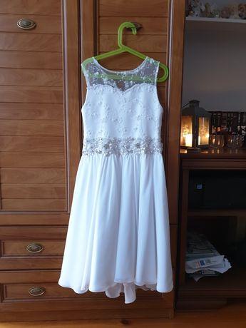 Sukienka komunia wesele na przebranie 134/140