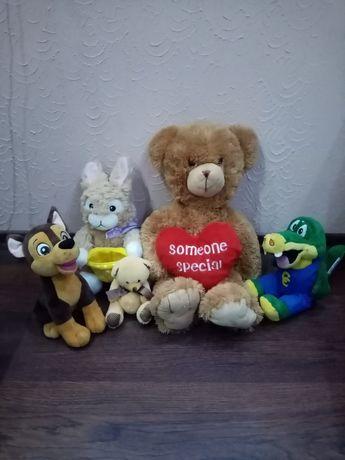 Мягкие игрушки фирменные, мягкая кукла, медведь