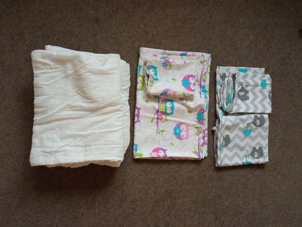 Kołdra niemowlęca 120x90 i poduszka 60x40