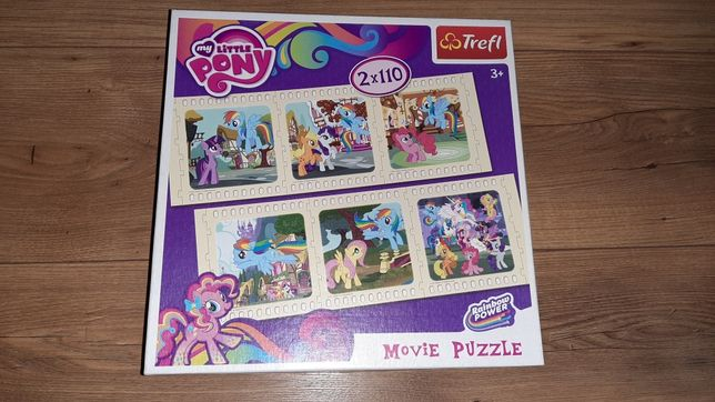 Puzzle My Little pony + gratis