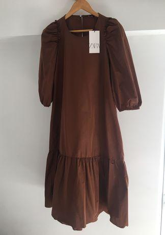 Vestido comprido - Zara