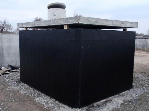 szamba betonowe zbiornik betonowy szczelne ścieki deszczówka komora 10