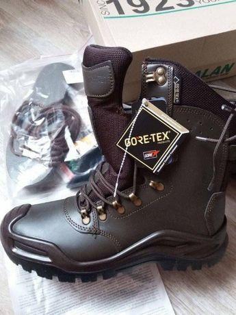 Кожаные зимние мужские ботинки (берцы) фирмы Талан (Talan)