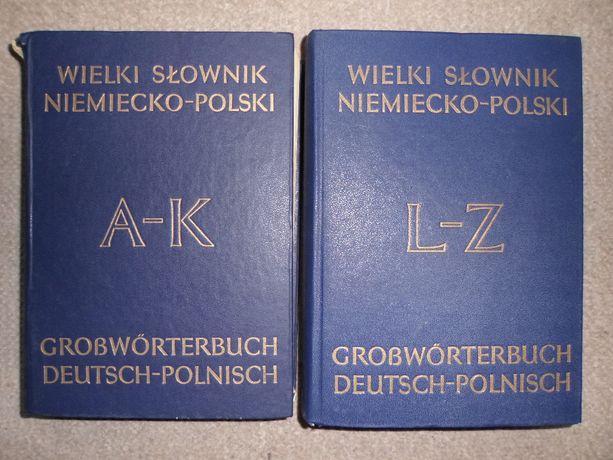 Wielki Słownik Niemiecko - Polski