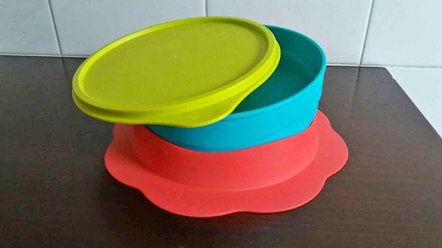 "Prato de Bébé Tupperware ""agarra à mesa"""