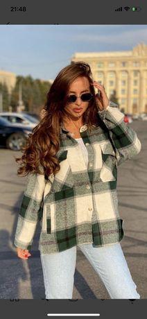 Рубашка пальто как Zara