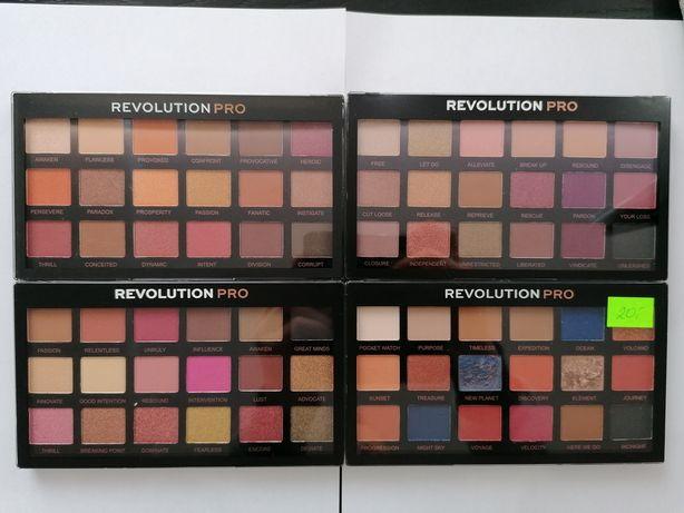 Palety 18 cieni do powiek REVOLUTION PRO. 100% NOWE 100% ORYGINALNE!