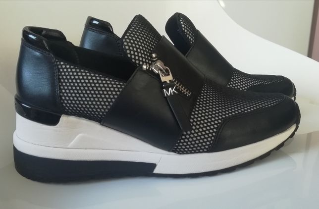Michael Kors trampki sneakersy tenisówki, rozmiar 37-38, platforma 6cm